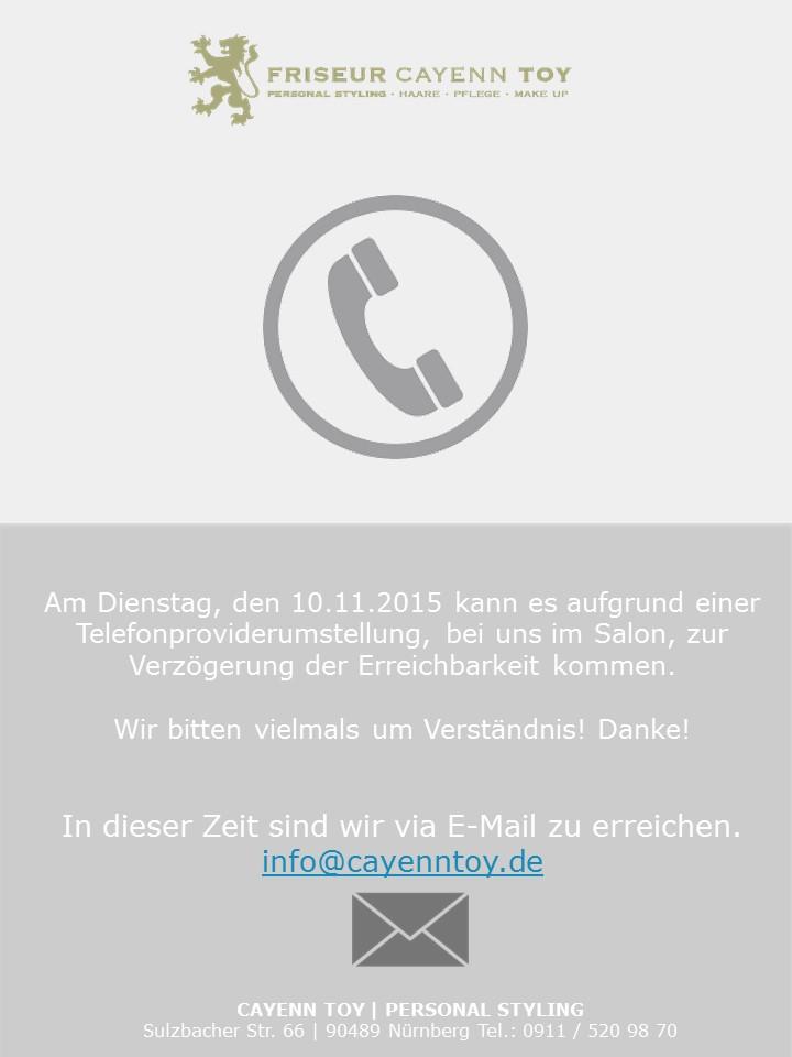 telefonprovider-umstellung