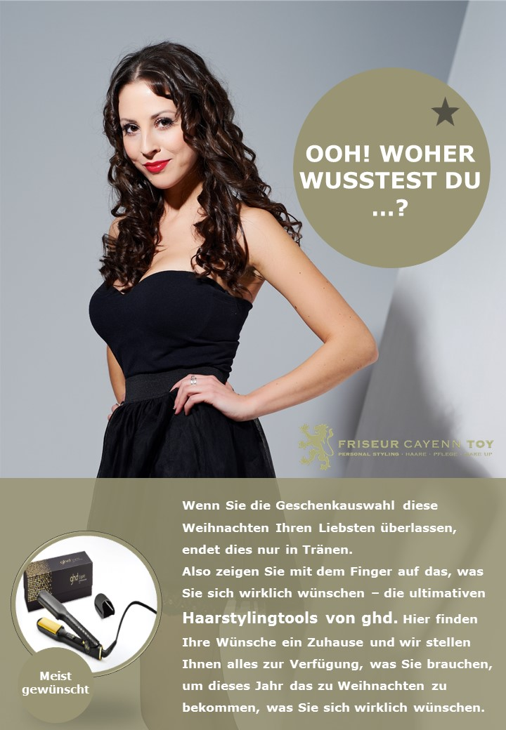 GHD X-Mas Aktion