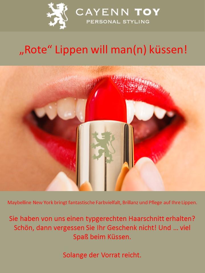 Lippenstift gratis Cayenn Toy